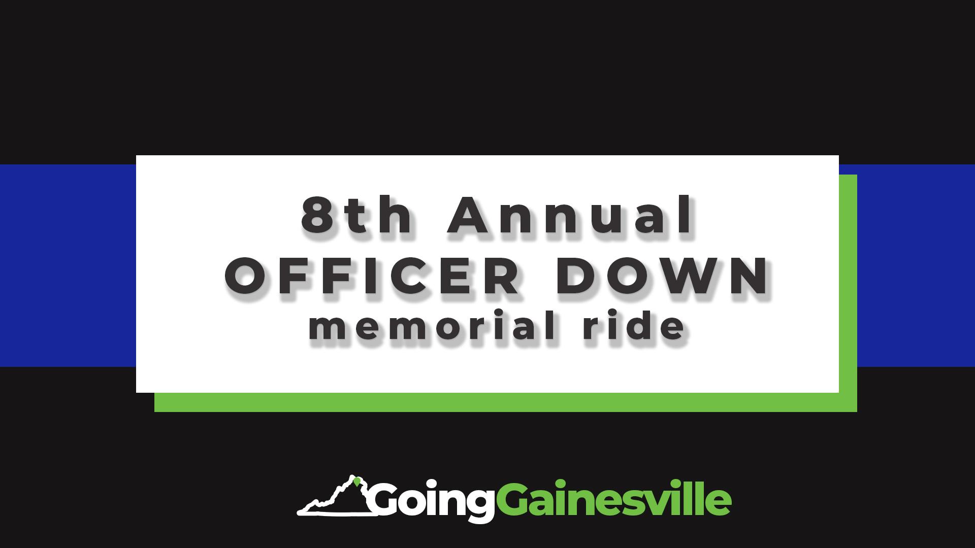 2019 8th Annual Officer Down Memorial Ride