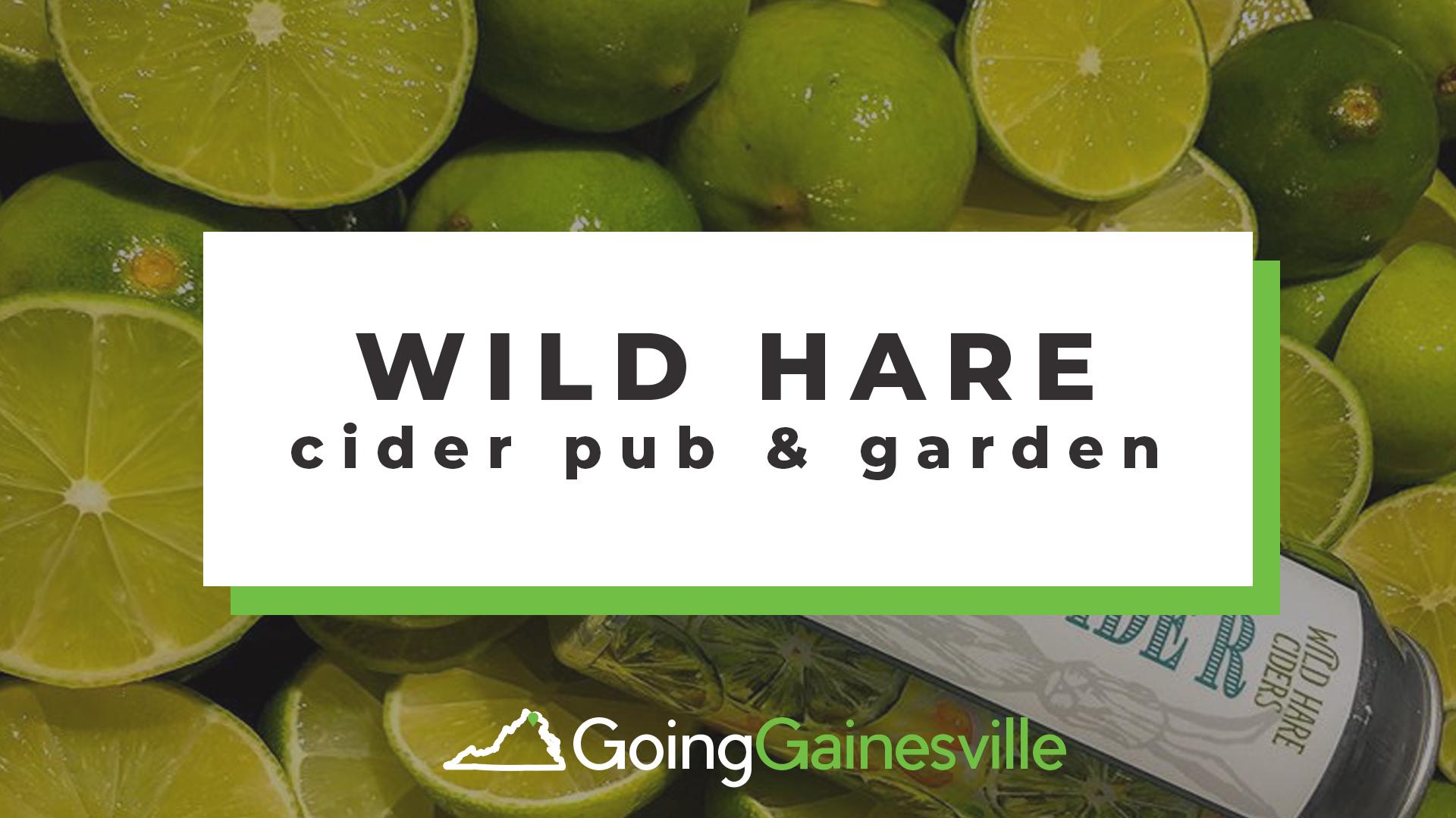 Wild Hare Cider Pub & Garden